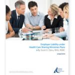 Employer Liability Under Health Care Sharing Ministries Plan